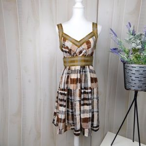 Plenty by Tracey Reese Cropped Patterns Dress